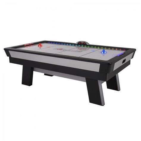atomic top shelf air hockey table atomic g04865w 90 inch top shelf air hockey table