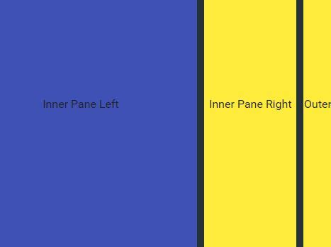 jquery layout resize height easy resizable splitter layout plugin for jquery