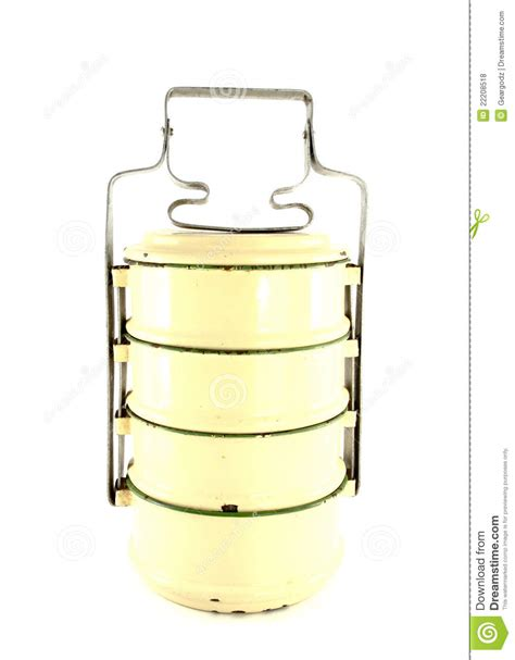 metal food container metal tiffin food container royalty free stock photos image 22208518
