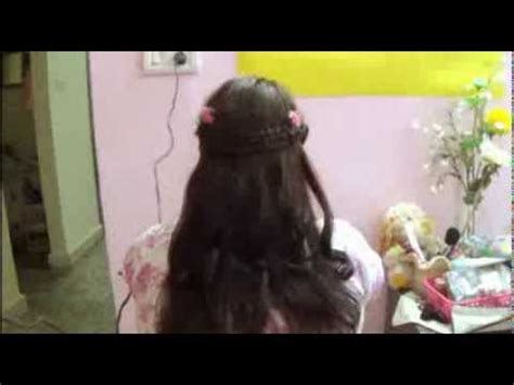 real angel hairdo    priencess hairstyle  birthday partyhairstyles pro youtube