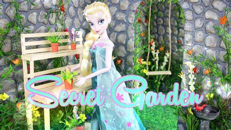 Doll In The Garden by Diy How To Make Doll Secret Garden Handmade Doll