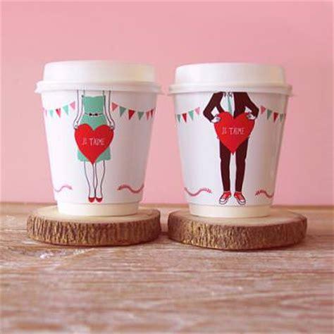 valentines day coffee coffee cup wrappers diy valnetines gift tip junkie