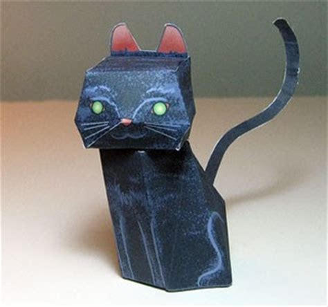 Black Cat Papercraft - black cat papercraft paperkraft net free papercraft