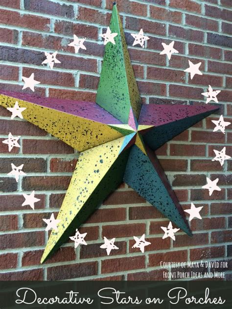 decorative stars for homes meaning of decorative stars seen on country homes and porches