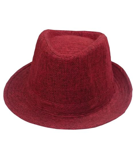 Coboy Marun Diskon attack maroon cotton cowboy hat buy rs snapdeal
