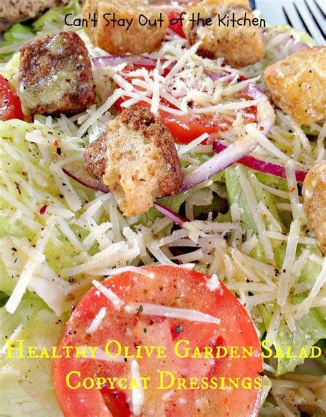 Healthy Olive Garden by Healthy Olive Garden Salad Copycat Dressings Can T Stay