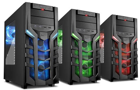 Sharkoon Dg7000 Green Acrylic Windowed Atx Mid Tower Gaming sharkoon announces the dg7000 for demanding gamers