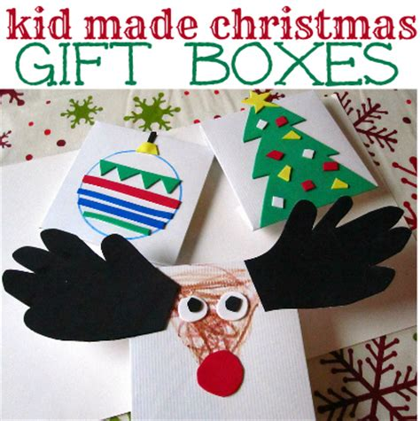 make your own christmas gift boxes