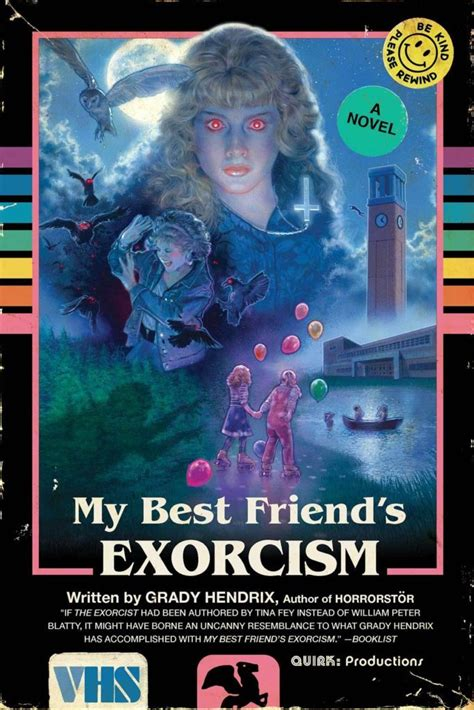 my best friend s books horror novel my best friend s exorcism gets a cool