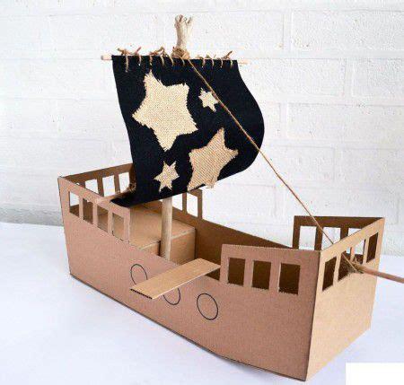 barco pirata hacer como hacer un barco pirata de carton cart 243 n pinterest