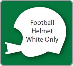 Football Helmet Yard Sign Blank Football Yard Sign Template