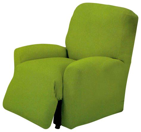 Green Slip Cover Jersey Stretch Slipcover Lime Green Chair Contemporary
