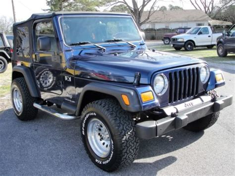 2005 Jeep Wrangler Parts Jeep Wrangler Wrangler X Gilbert Jeeps And 4 215 4 S