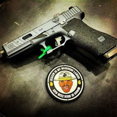 Rubber Patch Major Glock glock patch glock glock