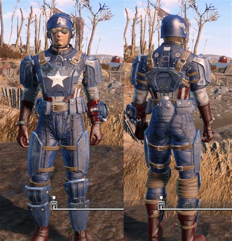 nuevas imagenes fallout 4 captain america s armor at fallout 4 nexus mods and