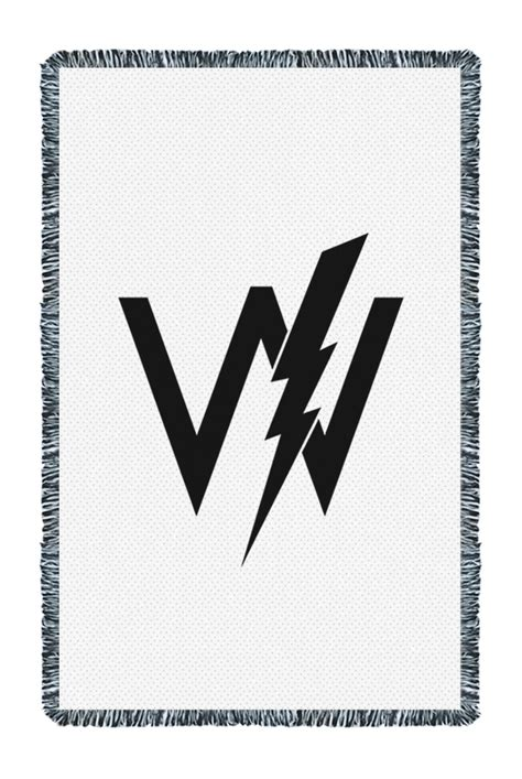 Sleeping With Sirens Comforter by Woven Logo Blanket Accessory Sleeping With Sirens