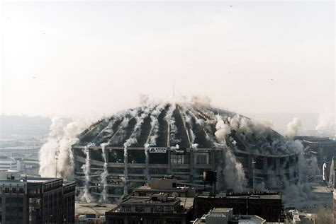 seattle kingdome map the brilliant physics building implosions