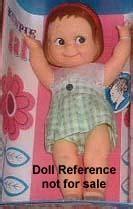 kewpie gal cameo dolls 1922 1970s