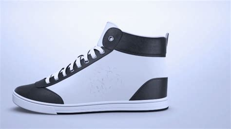 feature sneakers shiftwear sneakers feature an integrated e paper screen