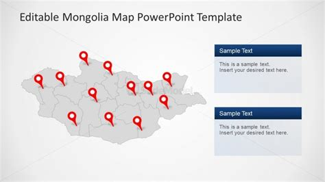 powerpoint design location world map with location pointer powerpoint template world