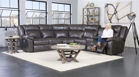 2 Reclining Sectional by Reclining Leather Sectionals Be Seated Leather Furniture
