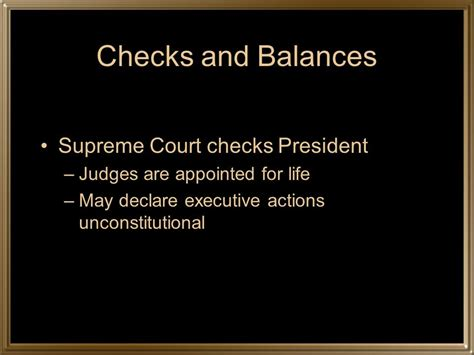 Court Background Check Checks And Balances Ppt