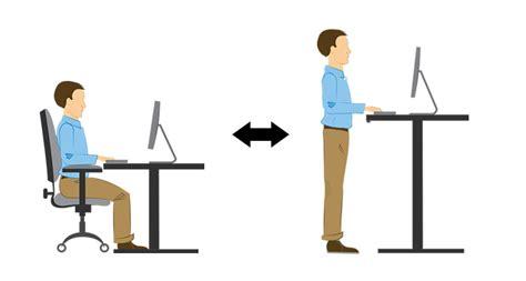 richtige sitzhöhe schreibtisch wieso ein h 246 henverstellbarer pc tisch fit gesund h 228 lt