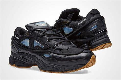 raf simons x adidas ozweego bunny black sneaker freaker