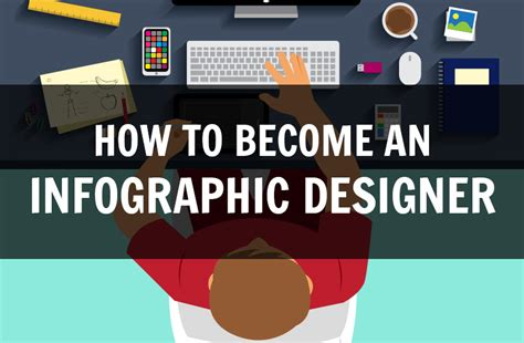 how to graphic design how to become an infographic designer infographic den