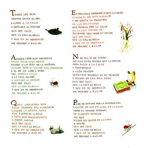 poemas infantiles de 4 estrofas poemas para ni 241 os de 4 estrofas imagui