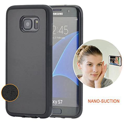 Samsung S7 Flat Anti Anti Shock Fuze Tpu 14 for samsung galaxy s7 edge anti gravity nano sticky magical cover silicone ebay