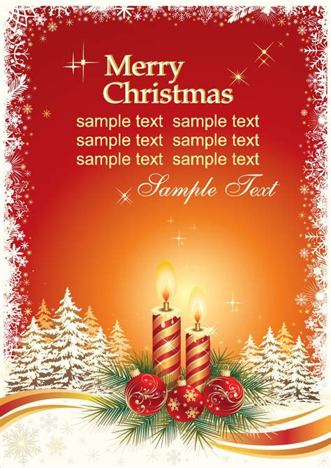 Merry Card Word Template by Card Templates Free Card Templates
