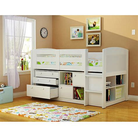 kids loft beds with storage georgetown storage loft bed white bedroom pinterest