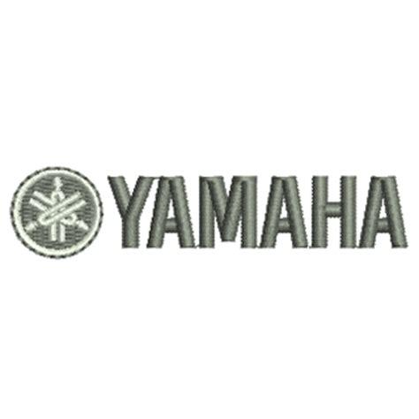 design logo yamaha yamaha 12257 stock embroidery designs for home and
