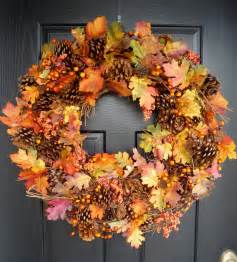 Crafty sisters quot plump quot fall wreath