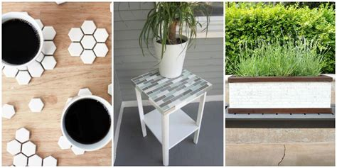 what to do with leftover tile crafts with leftover tile diy tile projects