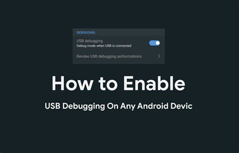android enable usb debugging how to enable usb debugging on any android device