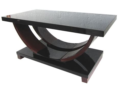modernage american deco streamline design coffee table