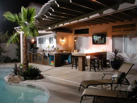 outdoor kitchen designs with pool outdoor kitchen design ideas pictures tips expert advice hgtv