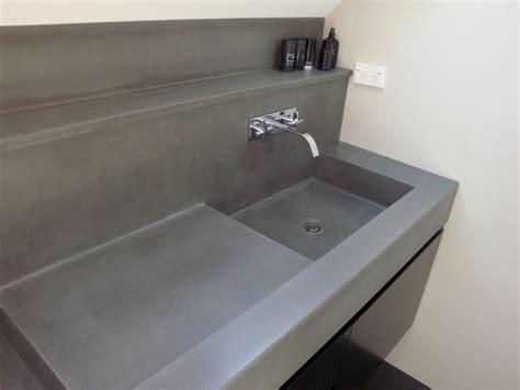 bathroom sinks concrete vanities basins