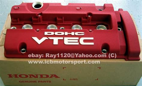 jdm prelude 97 01 bb6 type s red valve cover