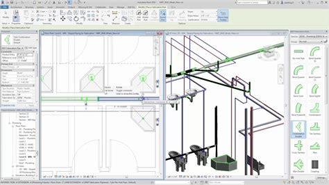 que es absolute layout revit 2018 whats new sloped piping fabrication youtube