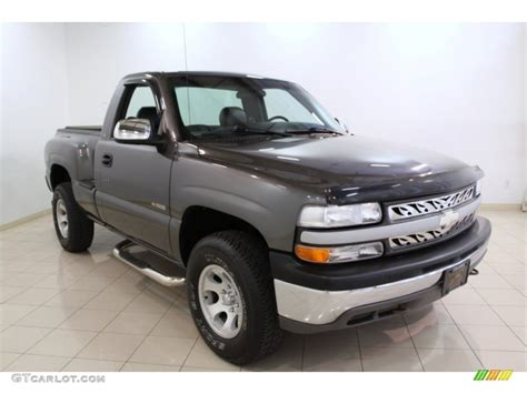 Gray Ls by Charcoal Gray Metallic 2000 Chevrolet Silverado 1500 Ls