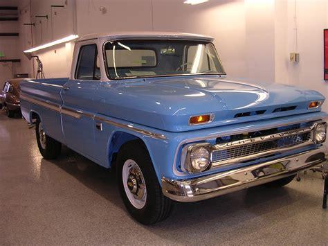 66 Chevrolet Truck 66 Chevrolet C20 Stainless Trim Works