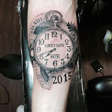 tattoo meaning clock clock tattoo ideas meaning best tattoos 2017 designs