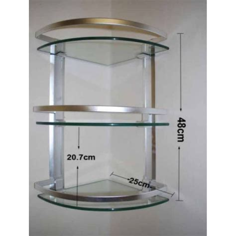 corner glass shelves for bathroom 3 layer corner glass shelves for bathroom in pakistan in