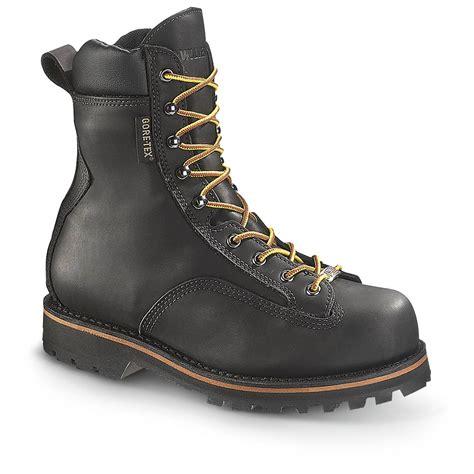 wolverine work boots s wolverine 174 northman tex 174 boots black 282655