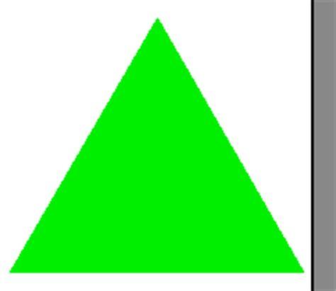 imagenes de triangulos verdes quia formas geom 233 tricas