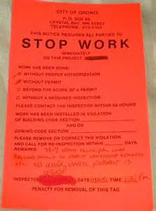 Stop Work Order by The Power Of Small Wind The Stop Work Order