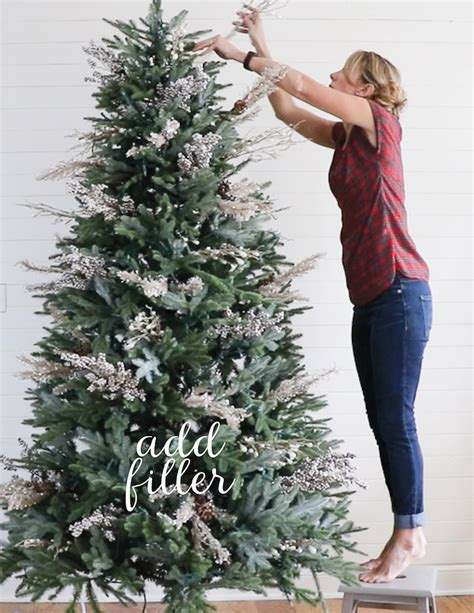 best christmas tree fillers remodelaholic how to decorate a tree in 5 simple steps
